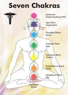 Alternative Medicine - Understanding your Chakra's The picture describes the basics of yoga and what each chakra means. Each chakra is often practiced while doing yoga. Yoga Kundalini, Chakra Meditation, Chakra Healing, Guided Meditation, Reiki Chakra, Chakra Crystals, Pranayama, Ashtanga Yoga, Crystal Healing