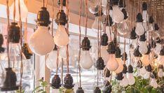 ¿Cómo decorar con bombillas? La decoración con bombillas se ha consolidado como una de las tendencias más populares en el ámbito del interiorismo. En cualquier espacio, una buena decoración con este tipo de herramientas puede imprimir en tu hogar todo lo que necesitas a la hora de respirar su estilo propio. Desde la idea de [...] La entrada 💡Cómo decorar con bombillas de forma original💡 se publicó primero en De Materias. Light Bulb, Industrial, Ceiling Lights, Lighting, Blog, Diy, Home Decor, Hanging Gardens, Vertical Gardens