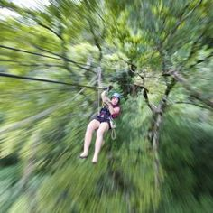 Ziplining through the treetops and off sweeping cliffs in the Drakensberg mountains of South Africa.