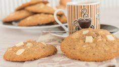 Cookies de chocolate blanco y nueces