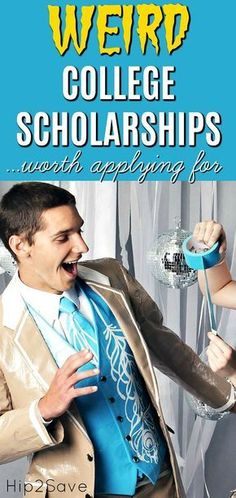 Have a child heading to college soon and looking to save money? Check out these … Have a child heading to college soon and looking to save money? Check out these fun but weird college scholarships worth applying for… Grants For College, Financial Aid For College, College Planning, Scholarships For College, College Hacks, Education College, College Students, College Fun, Education Degree