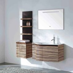 "Unique 35.5"" Modern Bathroom Vanity Set with Curvy Front Green Teak VM-V11063 (free shipping)"