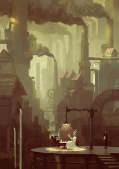 """An excellent eye-catching steampunk piece, """"Absinthe"""" Kurobot.deviantart.com on #deviantART"""
