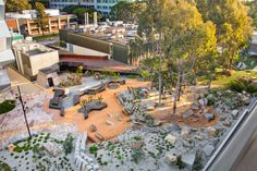 Earth Sciences Garden, Monash University by Rush Wright Associates «  Landscape Architecture Works | Landezine