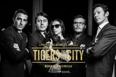 TIGERS IN THE CITY | PRIVATE PALERMO BROKERS DJ'S | STYLISHNESS | DRESS CODE MEMBERSHIP.  Concept & Art Direction | lucreziatestaiannilli Photo | fabioflorio  Bohemian Gallery + bohemiancircus.com