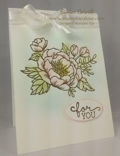 Stampin Up Birthday Blooms