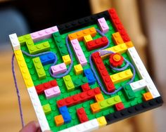 Lego Labyrinth with String (King Minos & Minotaur)