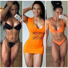 buffyshot:  @leidy_hernandez89: #strongisthenewsexy ❤ #orange #fitgirls ❤  ES  nuevo día,  nueva #motivación #fuerteypositiva ☺