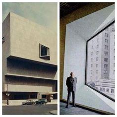Marcel Breuer 1966 Whitney Museum of American Art (now The Met Breuer) - New York, NY