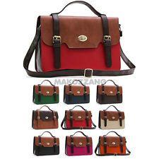 Womens Bags Handbags Satchel Messenger Cross Body Sholuder Strap College Purses