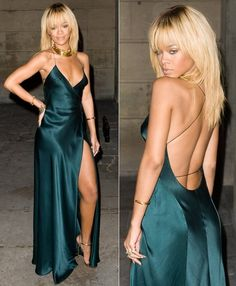Rihanna in Stella Mc. Dress (Google Image Result for http://www.la-advertising-photographer.com)