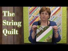 LOVE IT! Quilting with scraps - Make the String Quilt by the Missouri Star Quilt Company.