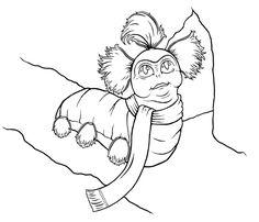 Just A Worm Lineart by bdunn1342 on DeviantArt