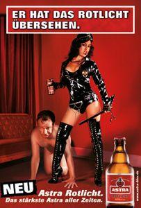 Astra Plakat Werbung (Best Ever Stuffing) Fc St Pauli, Beer Commercials, Ritter Sport, Beer Poster, Great Ads, Guerilla Marketing, Advertising Design, Sexy Heels, Funny Cartoons