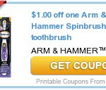 New  arm & hammer coupons
