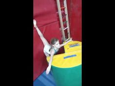 drills for Back strength for leaps - YouTube