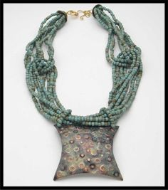 MEDITERRANEAN  Handforged Exotic Pendant  by sandrawebsterjewelry, $250.00