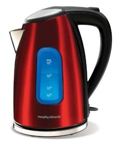 Morphy Richards Accents 43832 Jug Kettle, Red: Amazon.co.uk: Kitchen & Home