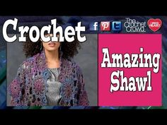 How To Crochet an Amazing Shawl - YouTube