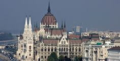 The Parliament building in Budapest (Hungary) is a magnificent example of Neo-Gothic architecture (although displaying Renaissance and Baroque characters too)