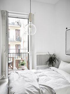 17 удивительных спален с балконами – Вдохновение