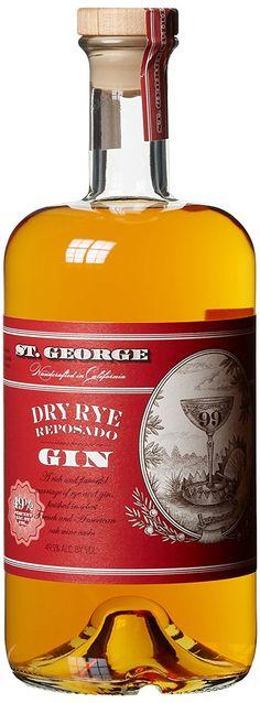 St. George Dry Rye Reposado Gin (1 x 0.7 l)