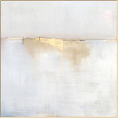 Spring Fog 2 -This abstract has a soothing palette and works well with just about any style décor.