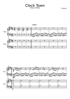 laputa castle in the sky piano sheet music pdf