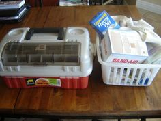 Prepared LDS Family: Tackle Box First Aid Kit: Organize your first aid supplies