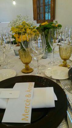 Table yellow