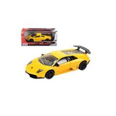Lamborghini Murcielago 1:24 távirányítású autóLP 670-4 SV Rubber Tires, Diecast Model Cars, Lamborghini, Dodge, Engineering, Lp, Yellow, Mini, Wheels