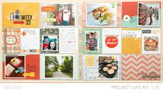 Project Life Week 33 by debduty at @Studio_Calico Cuppa