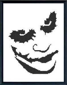 Hey, I found this really awesome Etsy listing at https://www.etsy.com/listing/170306138/cross-stitch-pattern-joker-pdf