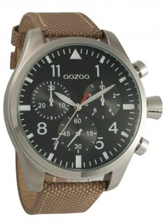 http://kloxx.gr/brands/brands-oozoo/oozoo-timepieces-xxl-beige-fabricleather-strap-c6624