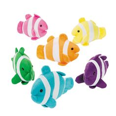 Plush Clown Fish - OrientalTrading.com