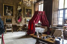 Burghley House, near Stamford, Lincolnshire, England.  Brown Drawing Room. Casa Burghley 26