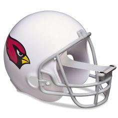"NFL Helmet Tape Dispenser, Arizona Cardinals, Plus 1 Roll Tape 3/4"" x 350"", $11.75 #office #supplies #work #football"