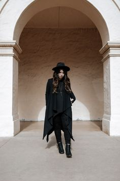 Outfit : All Black All the Time | Stuck with Pins #fashion #blogger #style
