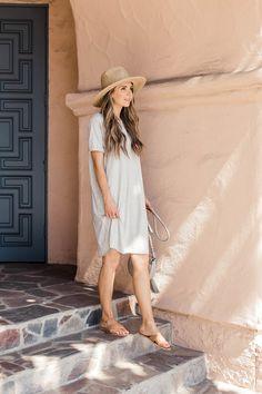 a765e9bf55 How to Make an Easy Summer T-Shirt Dress