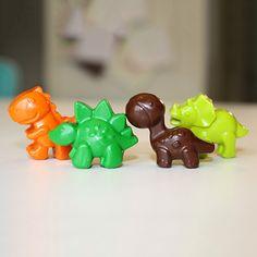3D Dinosaur Crayons $1.70