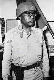 Duvalier en militaire, journée 29 juillet 1958- HAITI