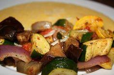 Roasted Vegetables with Creamy Polenta — Punchfork