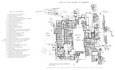 Plan of Raby Castle (1897) | Floor Plans: Castles ...