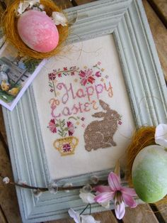 @ La Comtesse & Le Point De Croix: Easter Bunny Free Cross-stitch Pattern, thanks so for share xox ☆ ★ https://uk.pinterest.com/peacefuldoves/