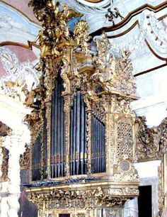 Lisbon   church organ of St. Catherine of Mount Sinai