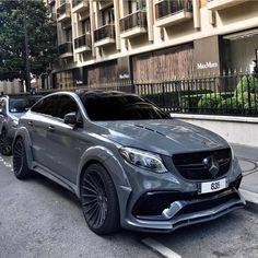 GLE 63s HAMANN by @msmotors ! Dope car or not ? Pic by : @mateo.r.photography Follow @exoti.car @exoti.car for daily posts #mercedesamg #mercedes #amg #gle #63 #grey #spotted #car #cars #carsofinstagram #hypercar #supercar #supercars #sportcar #sportscar #sportscars #luxurycars #luxury #luxurylife #success
