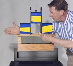 Tri-Section Illusion Magic Tricks Professional Magician Magic Box Stage Magic