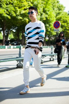 BKFWTOUR: STREET STYLE PARIS MEN'S FASHION – S/S 2016