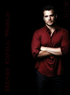 Henry for Man Of Steel Photo Shoot