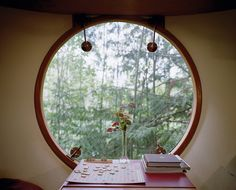 Treehouse window by Mark Mahaney